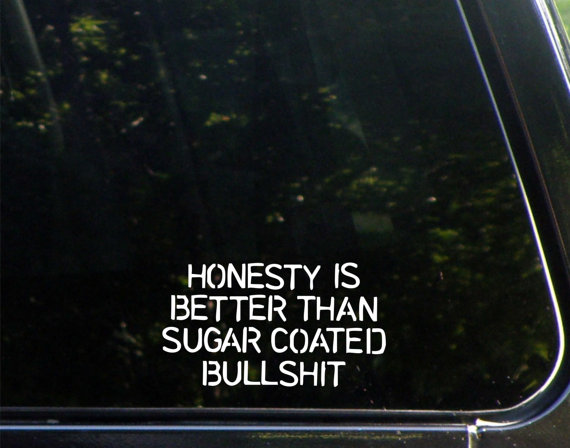 Honesty on social media is vital for brand reputation.