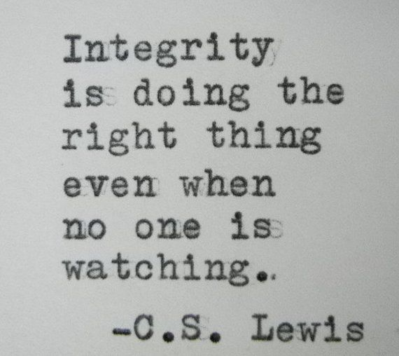 Ethical marketing is about integrity